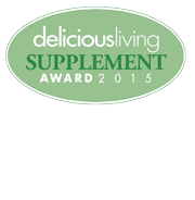 2015 Best of Supplement Award from Delicious Living