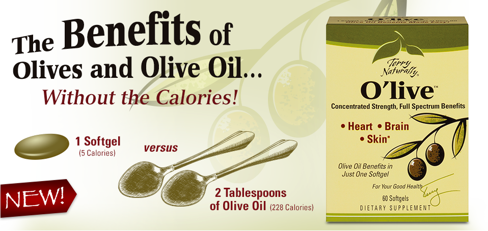 OLIVE —The Benefits of Olives and Olive Oil