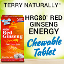 Red Ginseng HRG80™ Energy Chewable with Terry