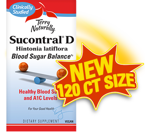 Sucontral® D now available in 120ct size!