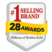 Winner of 28 Awards • Millions of Bottles Sold