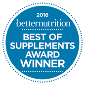 better nutrition — Best of Supplements Award Winner 2015