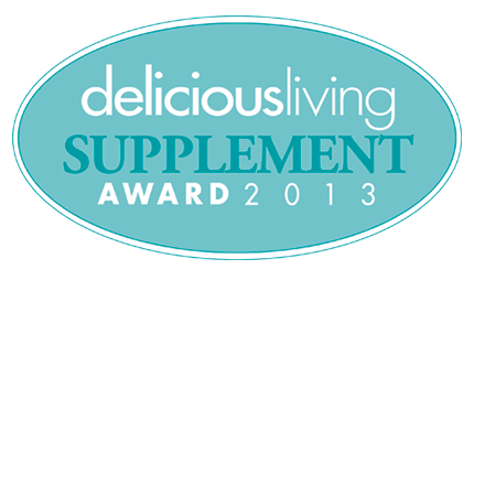 2013 FIRST PLACE Supplement Award from Delicious Living