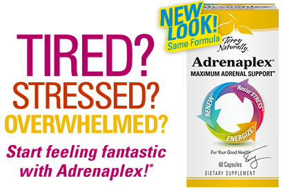 TIRED? STRESSED? OVERWHELMED? Start feeling fantastic with Adrenaplex!*