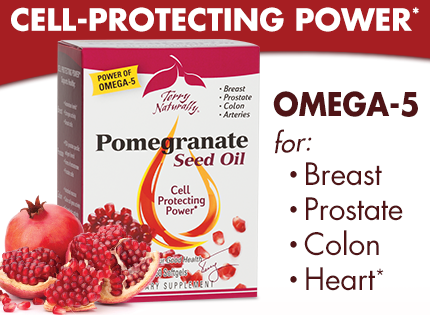 Pomegranate Seed Oil • Cell-Protecting Power*