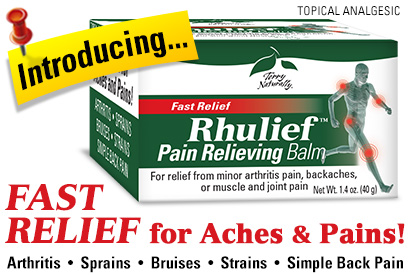 Rhulief™ Pain Relieving Balm For the Temporary Relief of Minor Aches and Pains of Muscles and Joints