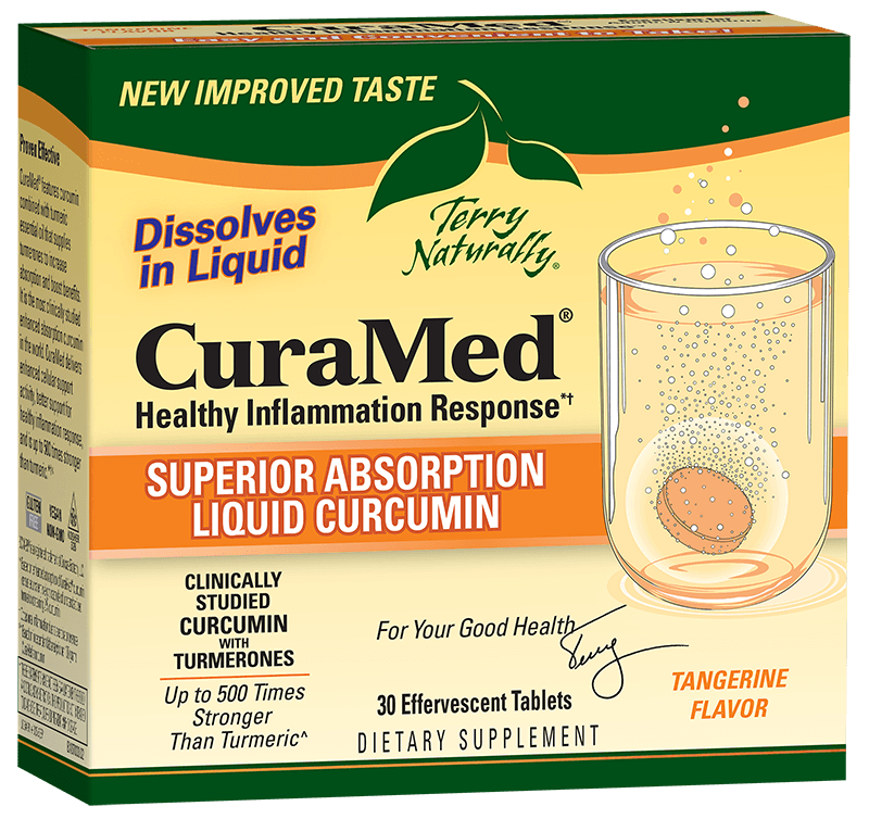 CuraMed® Effervescent Tablets (300 mg)